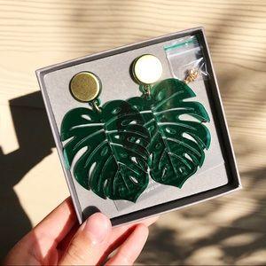 Jewelry - 【Sold】Monstera Leaf Earring by Jennifer Loiselle